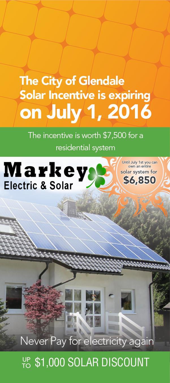 Glendale Solar Discount