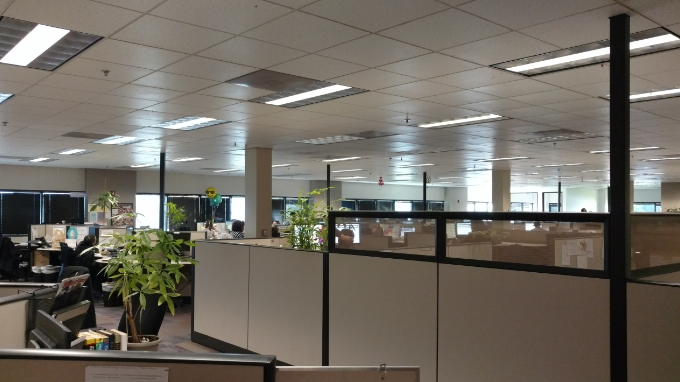 LED Lighting Retrofit Office