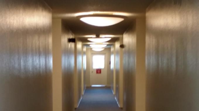 LED lighting retrofit apartment building