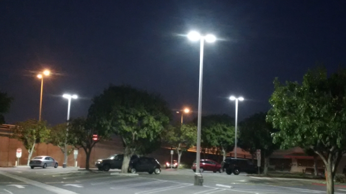 LED Lighting Retrofit Parking Structures