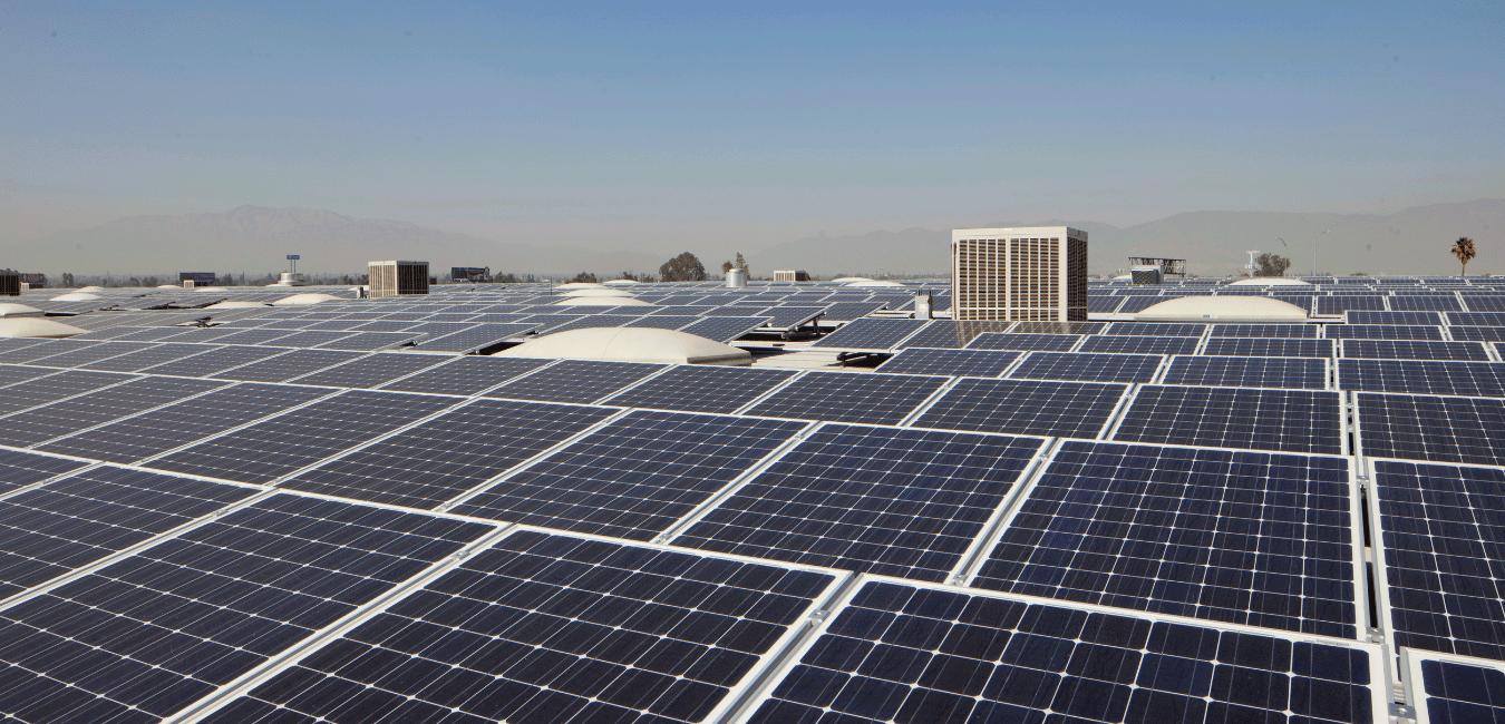 commercial solar panels burbank