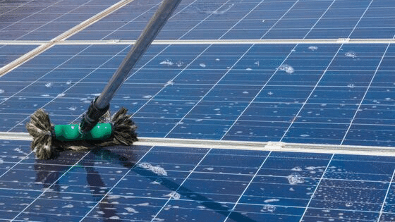 how to clean your solar panels